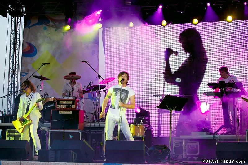 Фотографии с концерта группы Би-2 и LiteSound в Могилеве на день независимости Беларуси