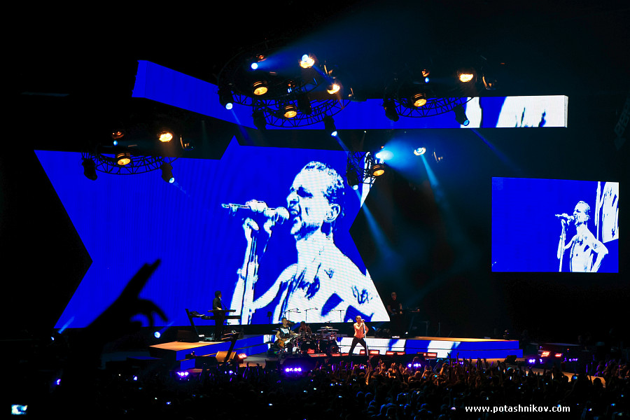 Фотографии с концерта Depeche Mode в Минске. Photos from concert Depeche Mode in Minsk Delta Machine Tour - Dave Gahan‬